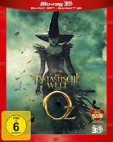 Die fantastische Welt von Oz (Blu-ray 3D, + Blu-ray 2D) Poster