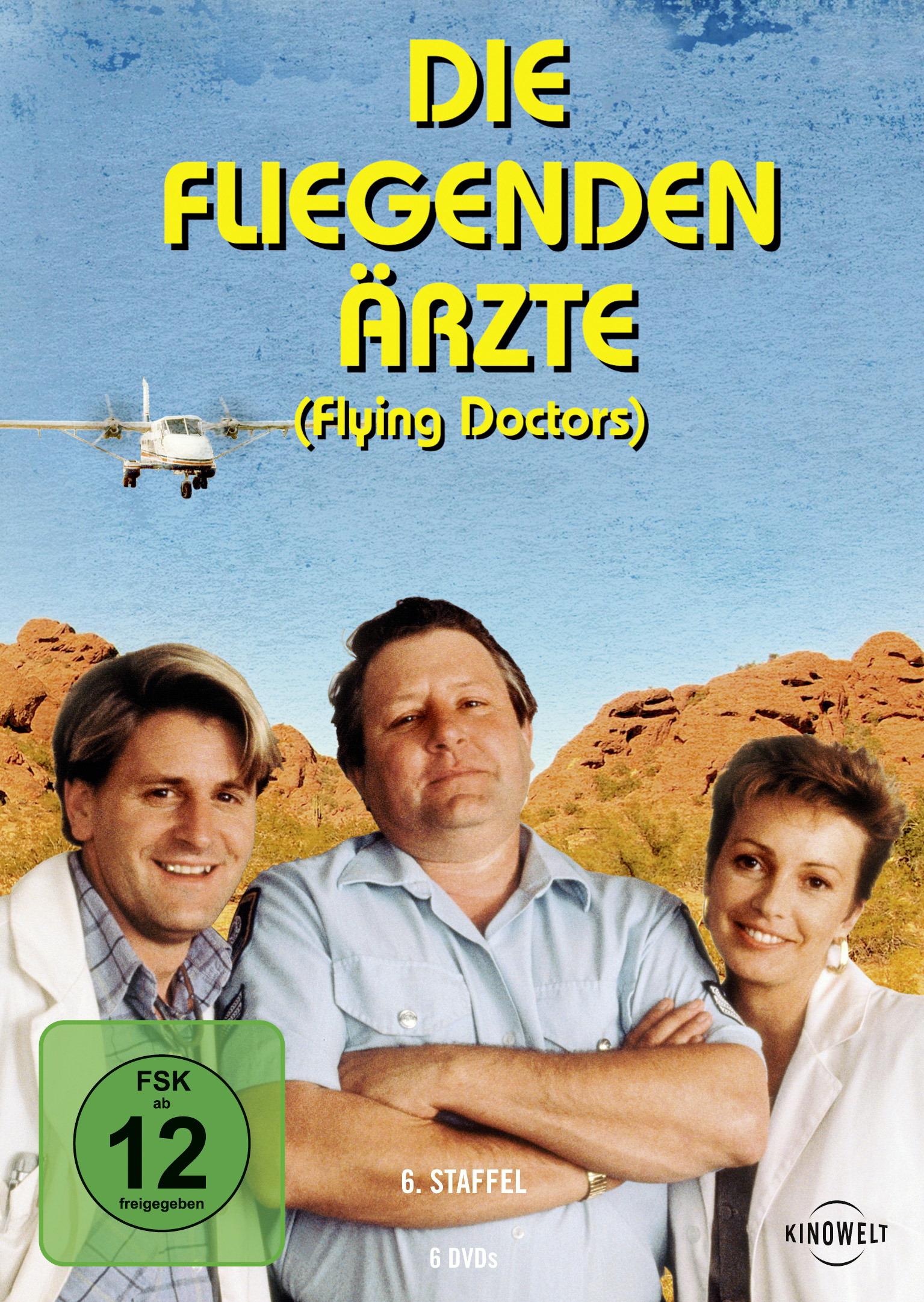 Die fliegenden Ärzte - 6. Staffel (6 DVDs) Poster