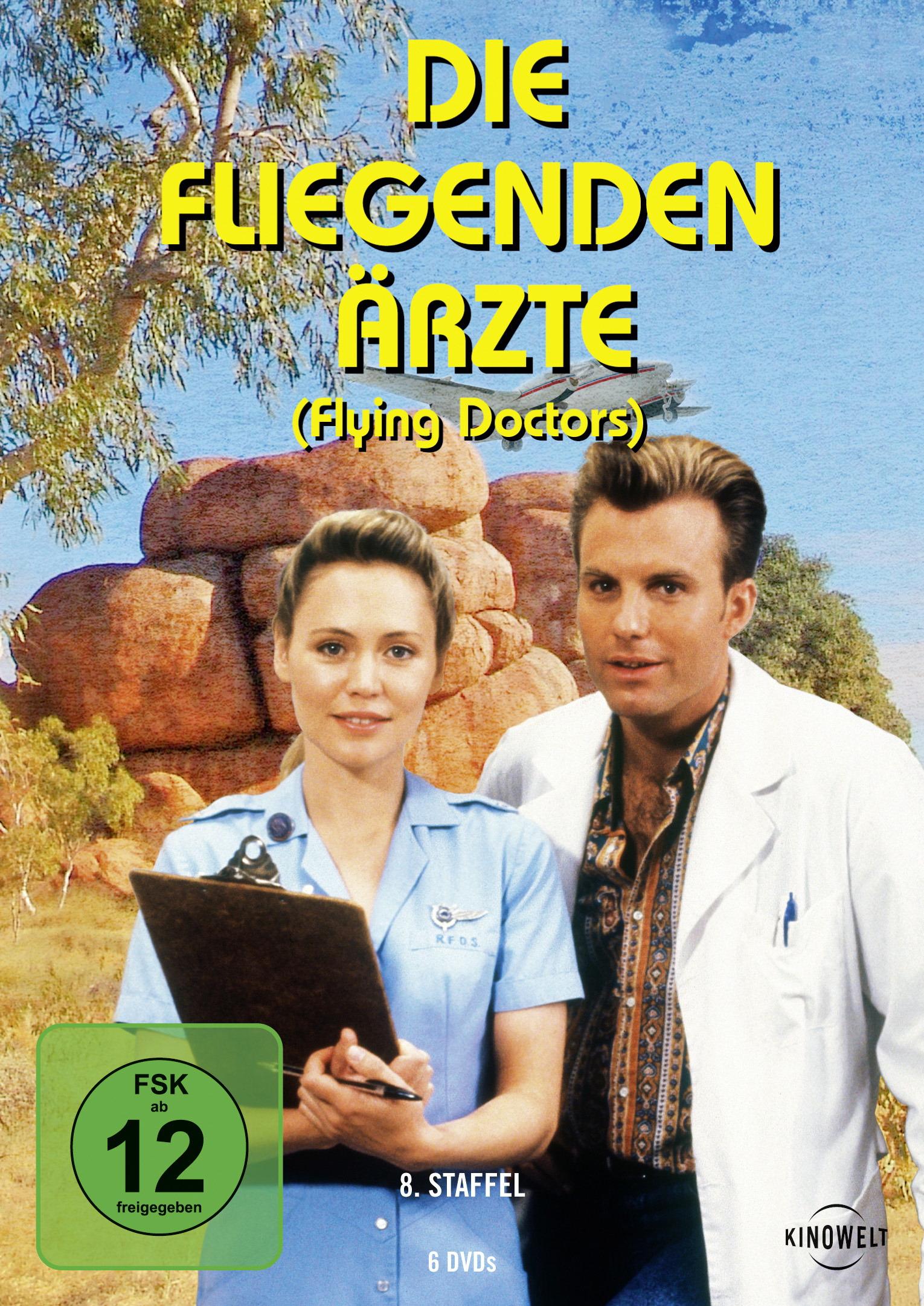 Die fliegenden Ärzte - 8. Staffel (6 Discs) Poster