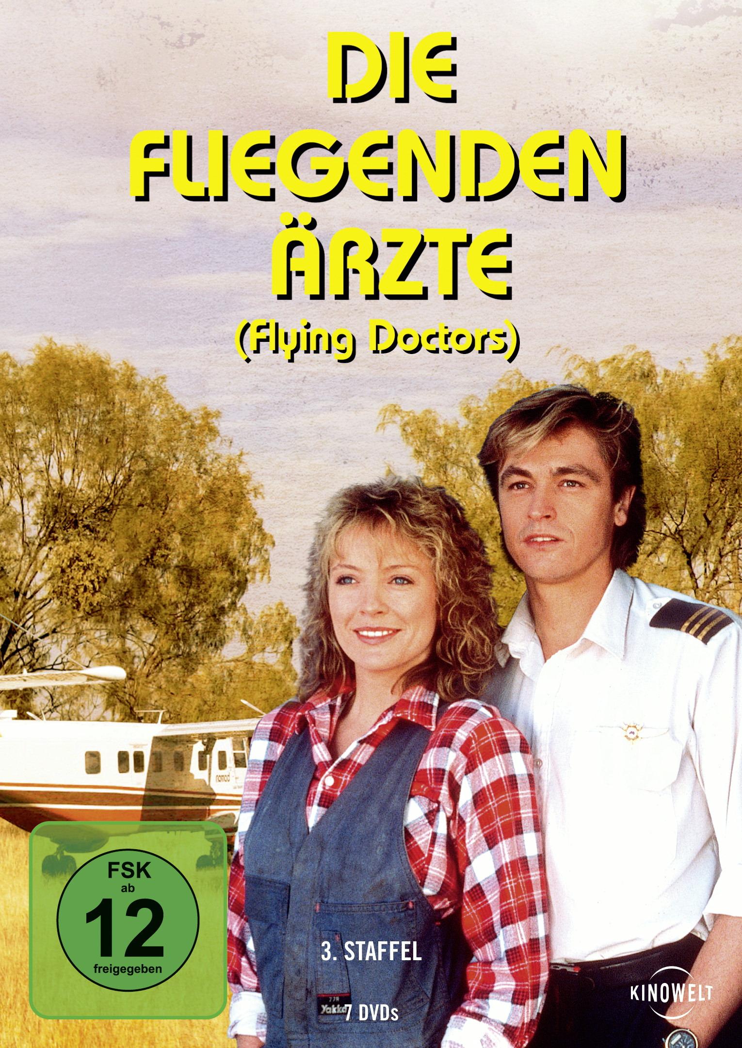 Die fliegenden Ärzte - Die komplette dritte Staffel (7 DVDs) Poster