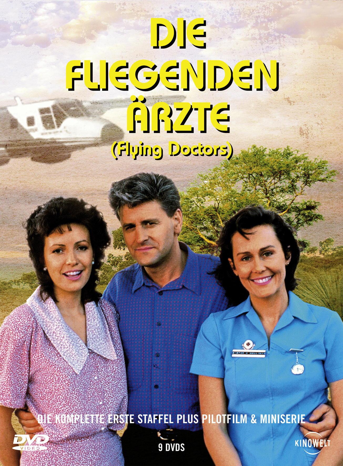 Die fliegenden Ärzte - Die komplette erste Staffel plus Pilotfilm & Mini-Serie (9 DVDs) Poster
