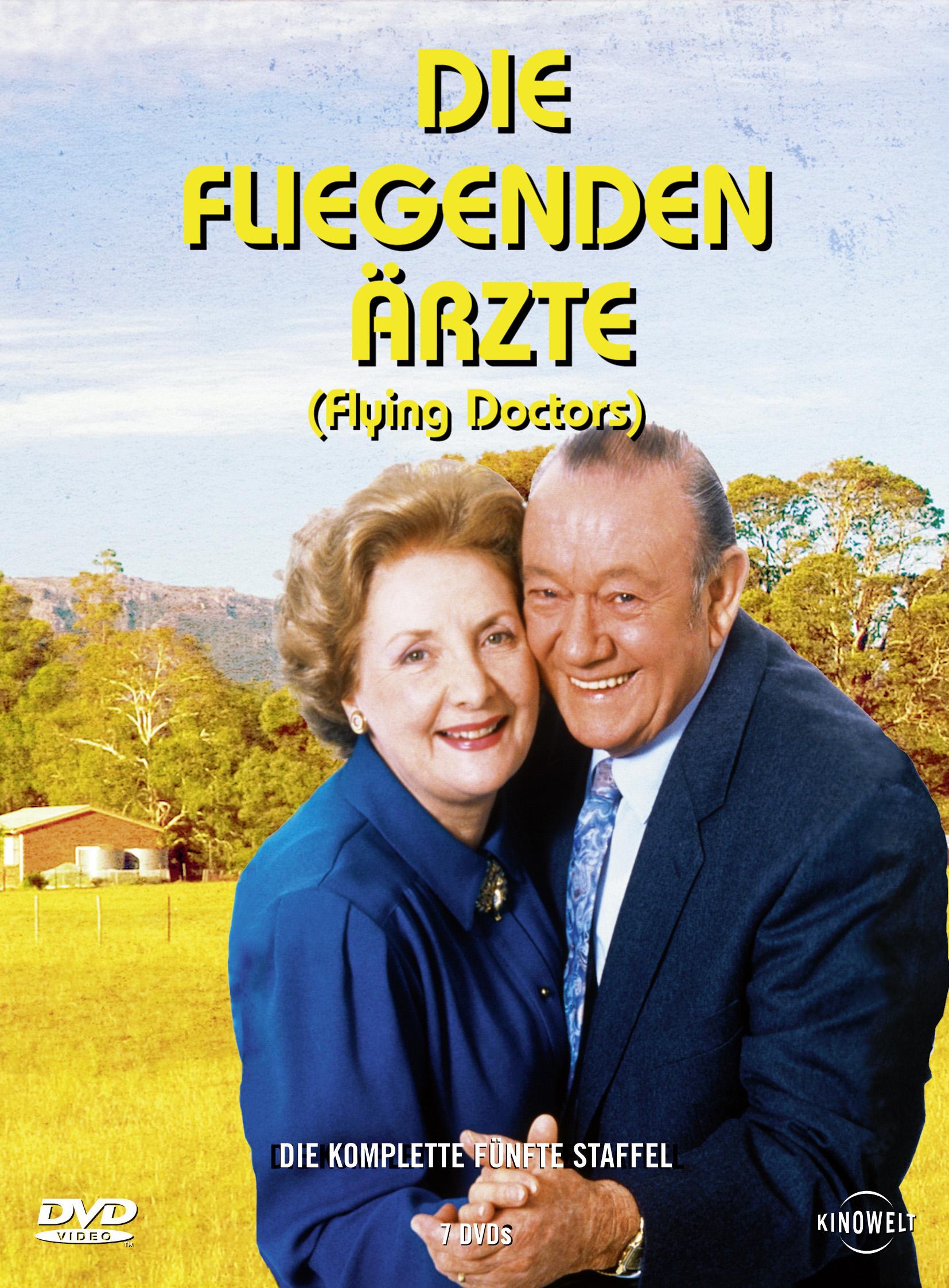 Die fliegenden Ärzte - Die komplette fünfte Staffel (7 DVDs) Poster