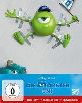 Die Monster Uni (Blu-ray 3D, + Blu-ray 2D, + Bonus-Disc, Steelbook) Poster