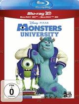 Die Monster Uni (Blu-ray 3D, + Blu-ray 2D) Poster