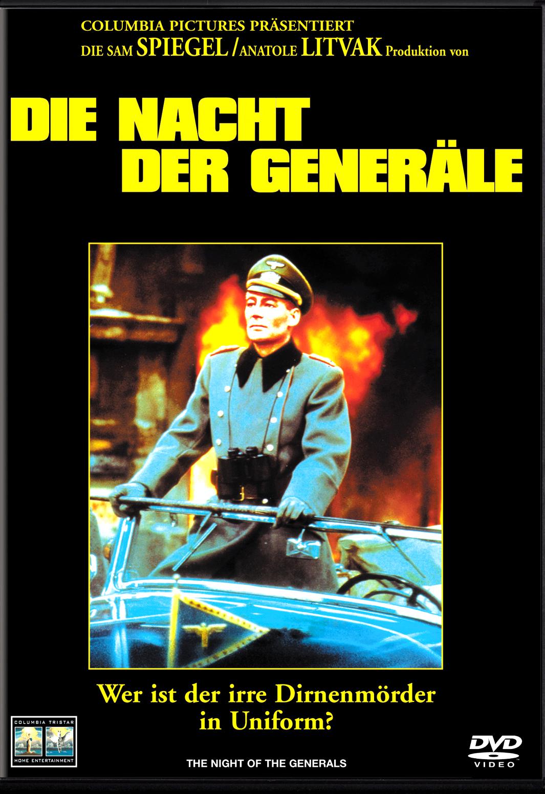 Die Nacht der Generäle Poster
