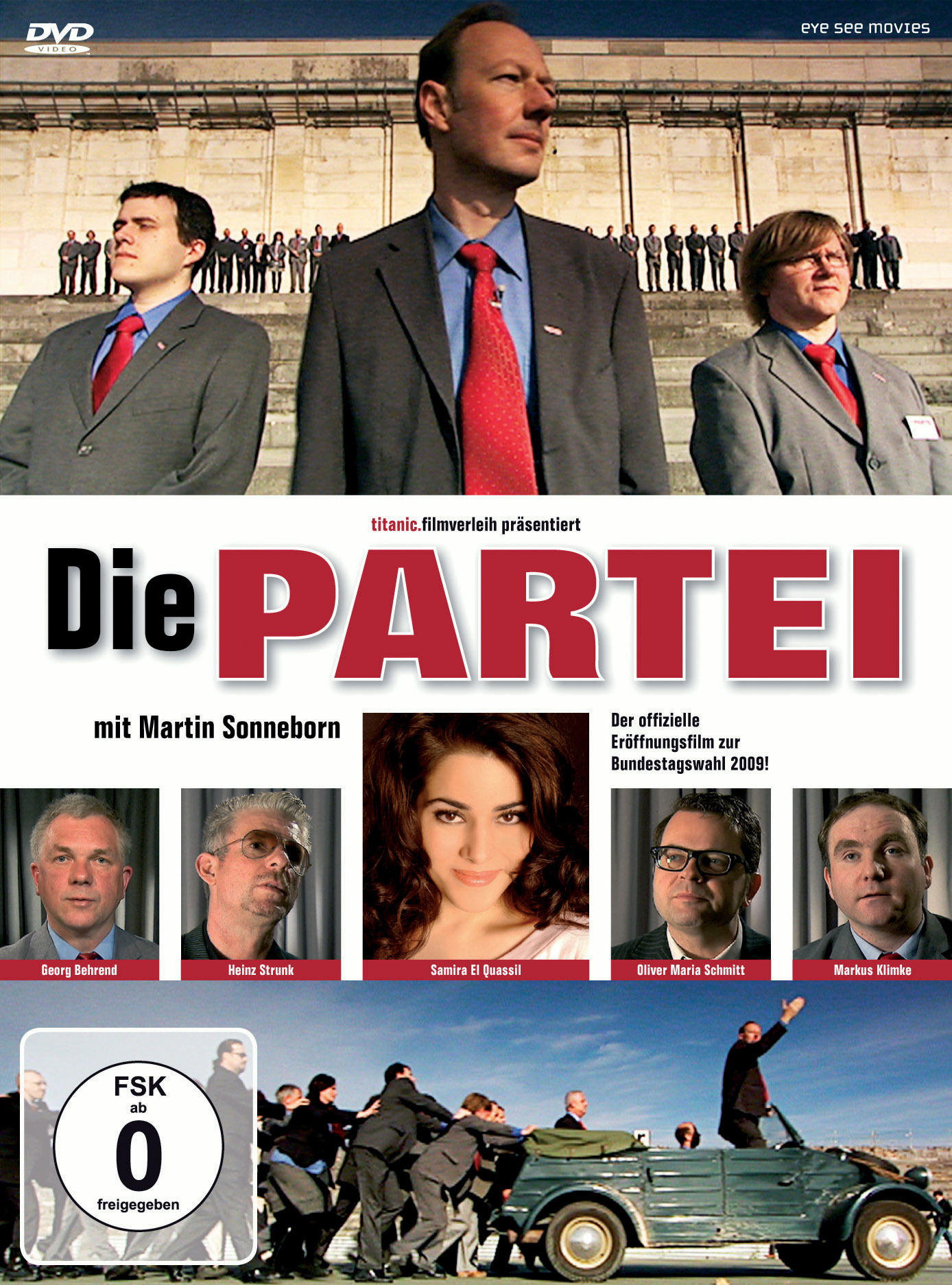 Die Partei (Deluxe Edition) Poster