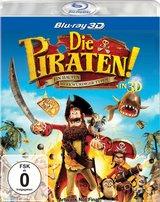 Die Piraten! - Ein Haufen merkwürdiger Typen (Blu-ray 3D) Poster