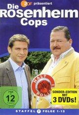 Die Rosenheim-Cops - Staffel 07, Folge 1-15 (3 DVDs) Poster