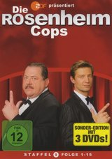 Die Rosenheim-Cops - Staffel 09, Folge 1-15 (3 Discs) Poster