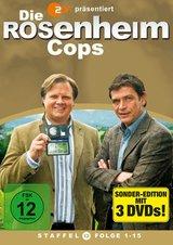 Die Rosenheim-Cops - Staffel 12, Folge 1-15 (3 Discs) Poster