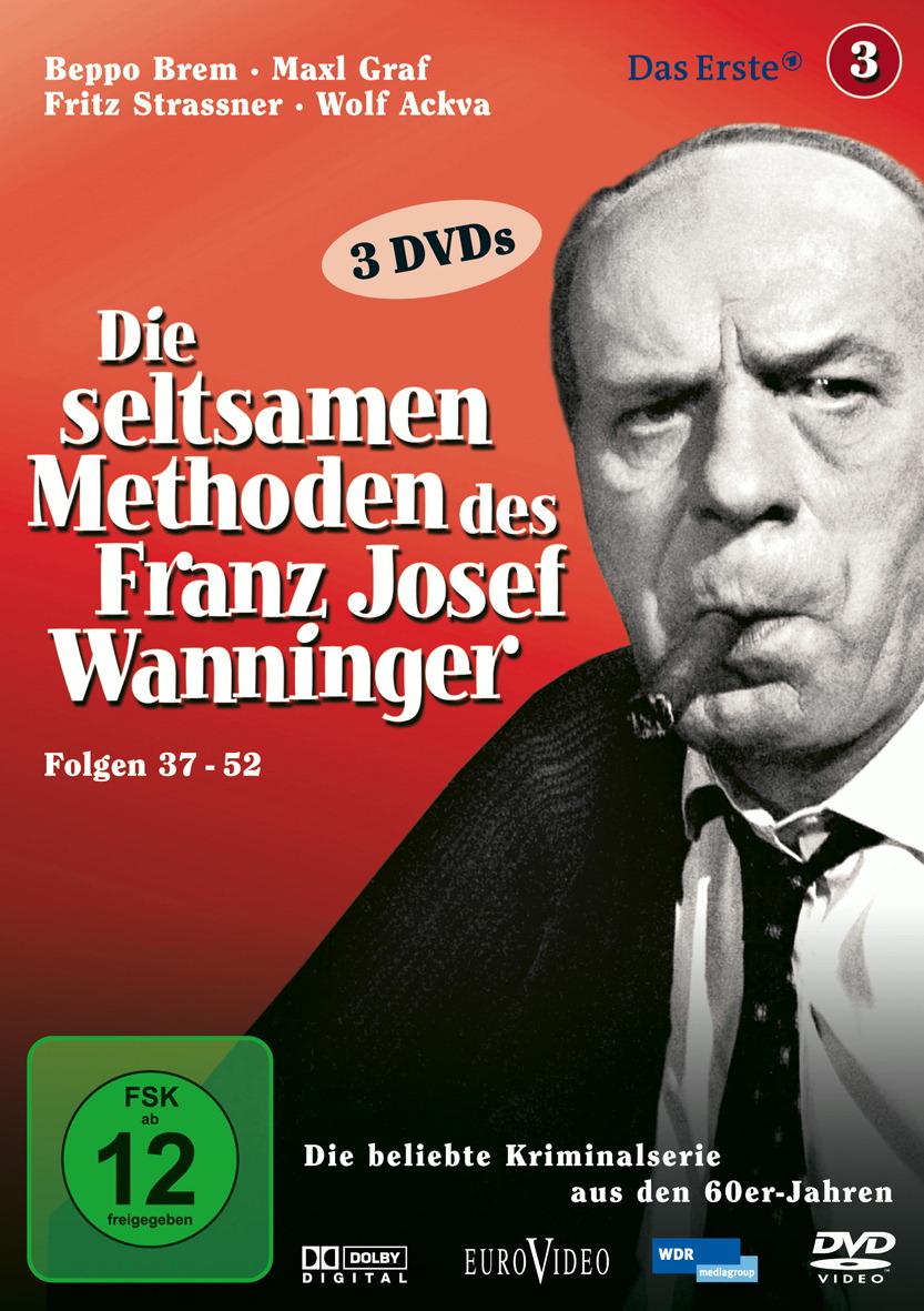 Die seltsamen Methoden des Franz Josef Wanninger, Folgen 37-52 (3 DVDs) Poster