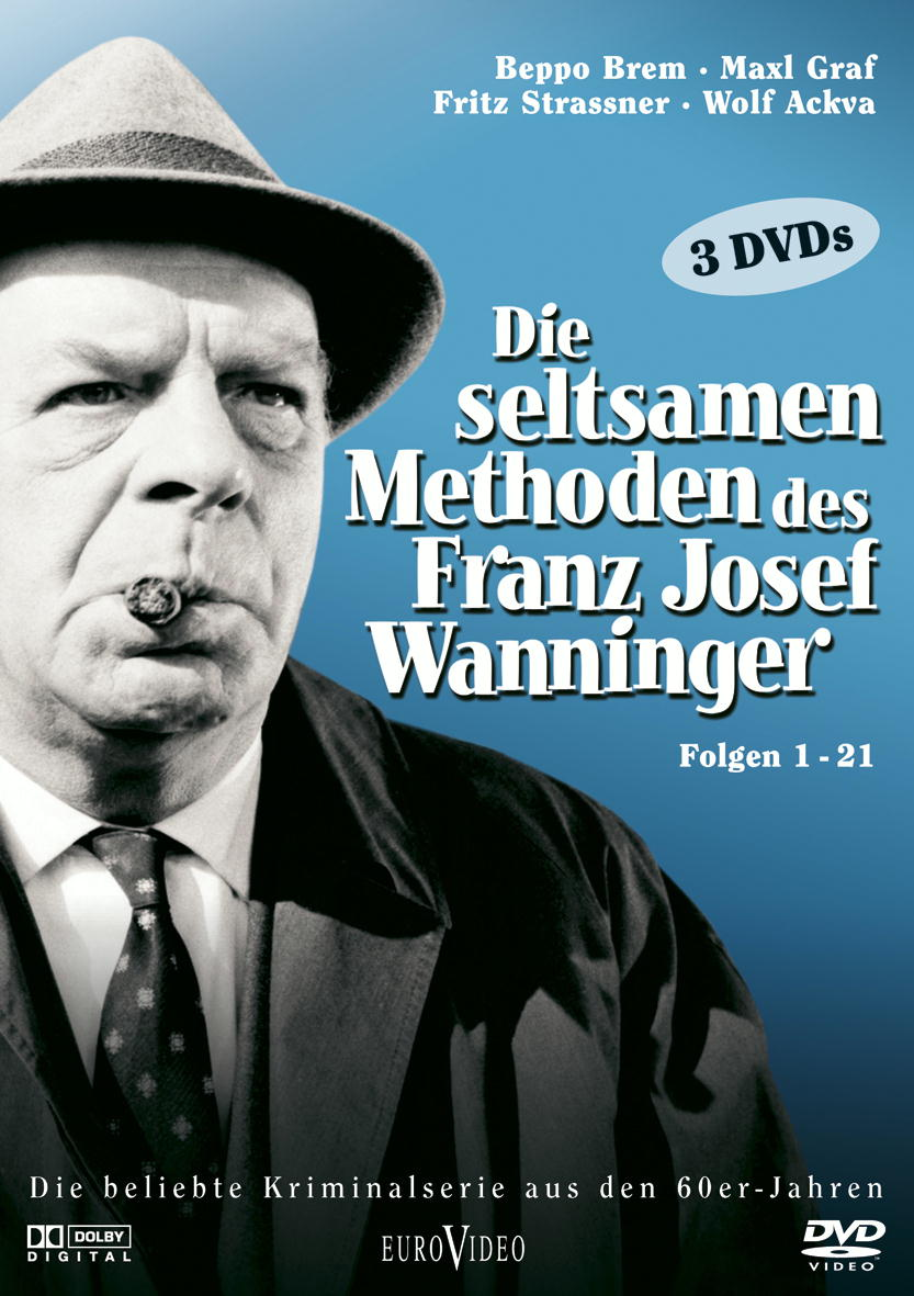 Die seltsamen Methoden des Franz Josef Wanninger, Folgen 01-21 (3 DVDs) Poster