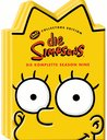 Die Simpsons - Die komplette Season 09 (Kopf-Tiefziehbox, Collector's Edition, 4 DVDs) Poster