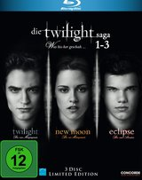 Die Twilight Saga 1-3 - Was bissher geschah... (3 Discs) Poster