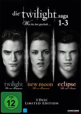Die Twilight Saga 1-3 - Was bissher geschah... (Limited Edition, 3 Discs) Poster