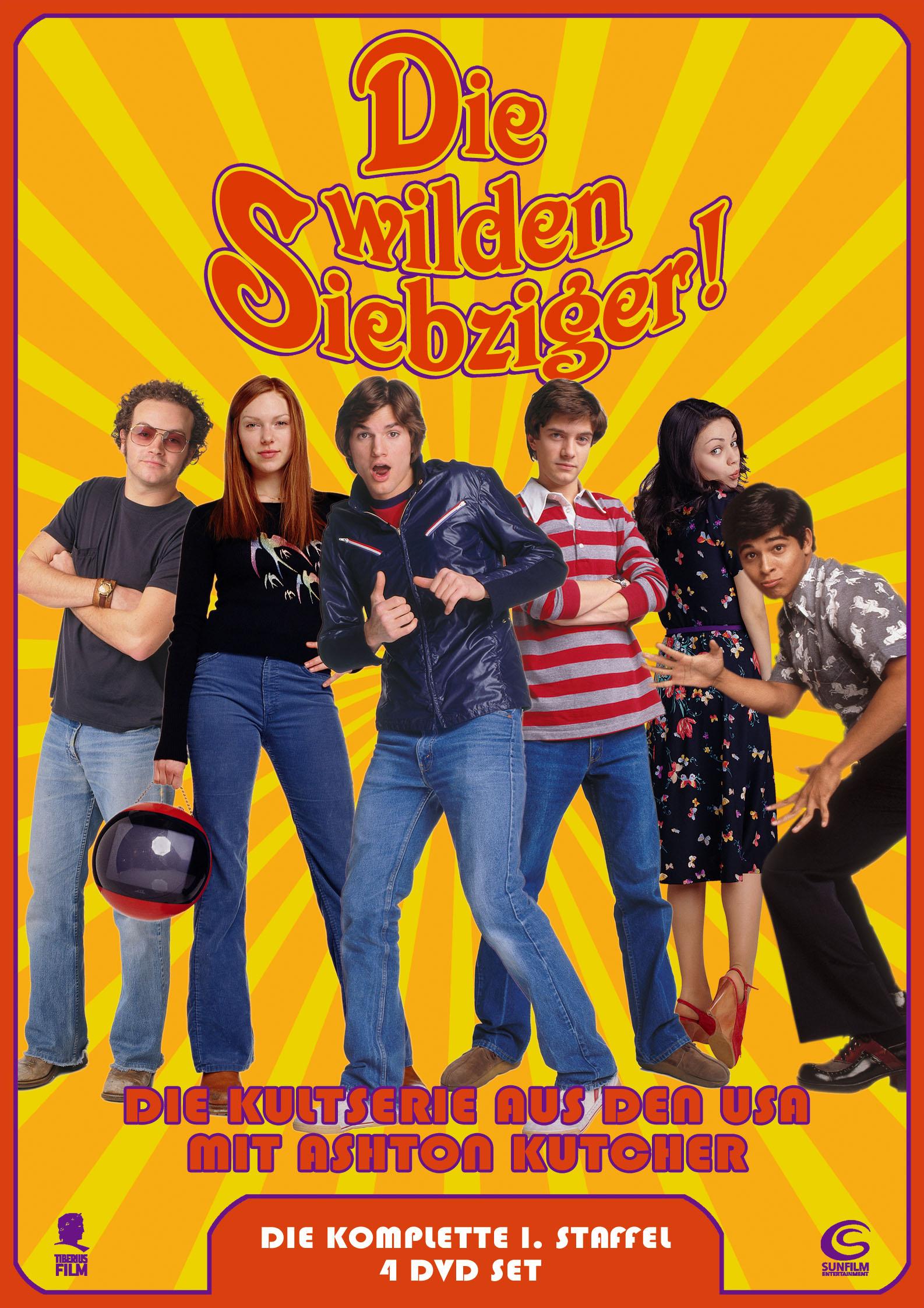 Die wilden Siebziger - Die komplette 1. Staffel (5 DVDs) Poster