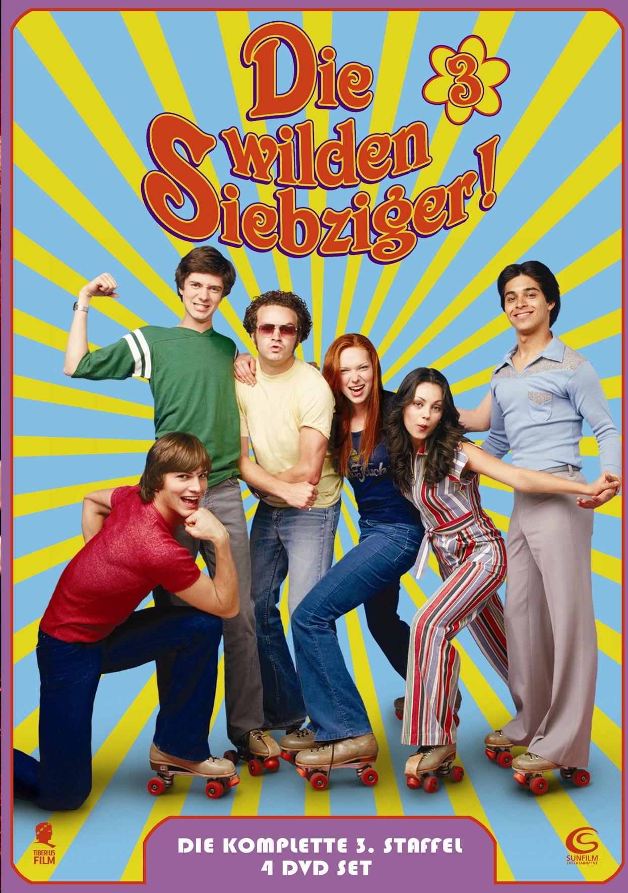 Die wilden Siebziger - Die komplette 3. Staffel (5 DVDs) Poster