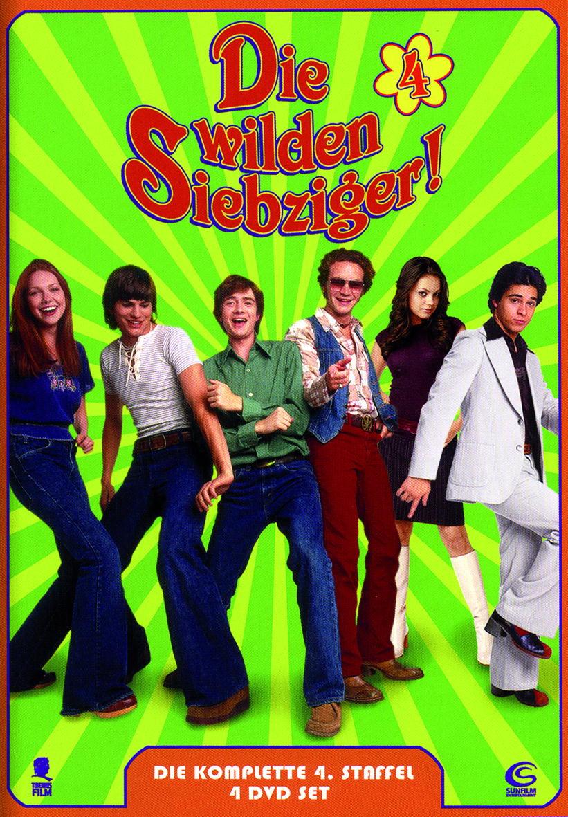 Die wilden Siebziger - Die komplette 4. Staffel (5 DVDs) Poster