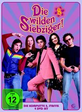 Die wilden Siebziger - Die komplette 8. Staffel (4 DVDs) Poster