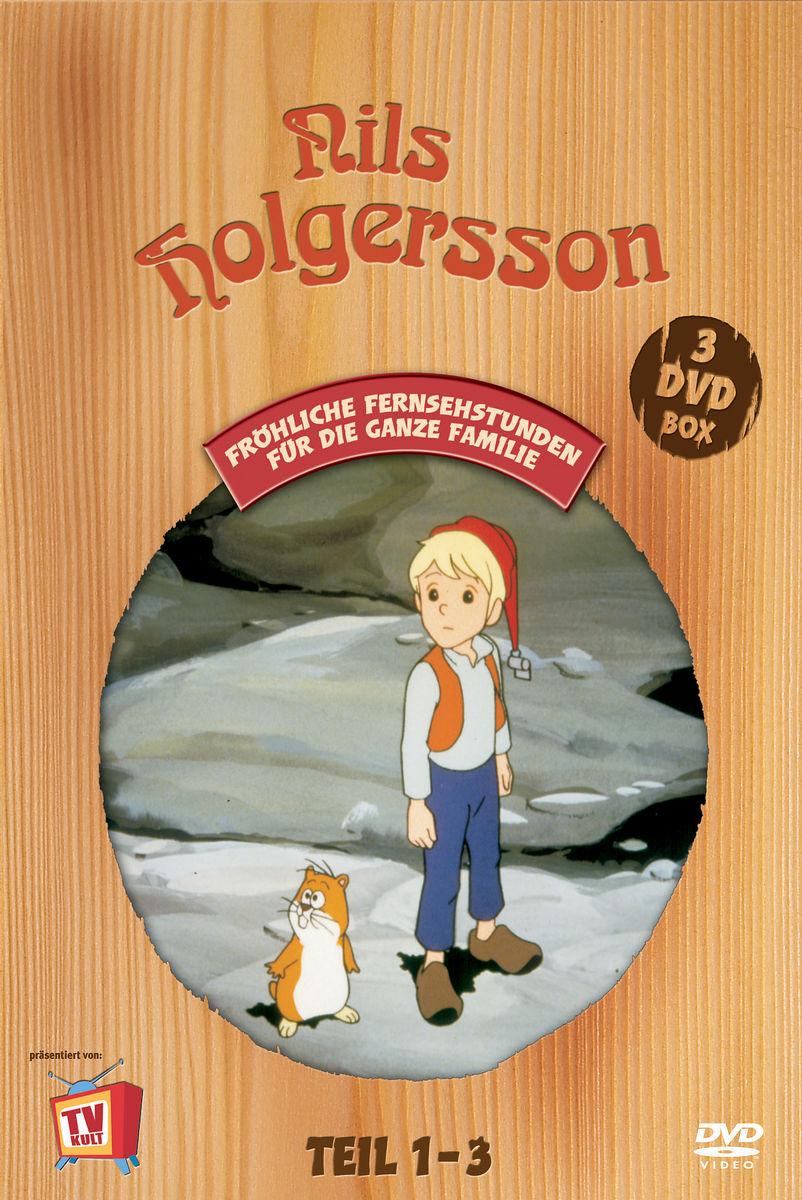 Die Wunderbare Reise des kleinen Nils Holgersson mit den Wildgänsen, Teil 01 - 03 (3 DVDs) Poster