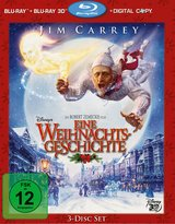 Disneys Eine Weihnachtsgeschichte (Blu-ray 3D, Blu-ray 2D, + Digital Copy, 3 Discs) Poster