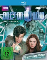 Doctor Who - Staffel 5, Volume 1 (Fan-Edition, 3 Discs) Poster