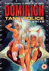 Dominion Tank Police - Vol. 01, Acts 1&2 Poster
