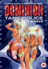 Dominion Tank Police - Vol. 02, Acts 3&4 Poster