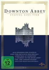 Downton Abbey - Staffel eins-vier (Limited Edition, 15 Discs) Poster