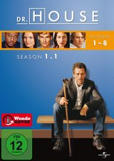 Dr. House - Season 1.1, Episoden 01-08 (2 DVDs) Poster