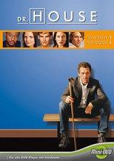 Dr. House - Season 1, Episode 1 (Mini-DVD) Poster