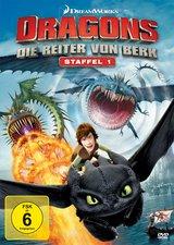 Dragons - Die Reiter von Berk, Vol. 1-4 (4 Discs) Poster