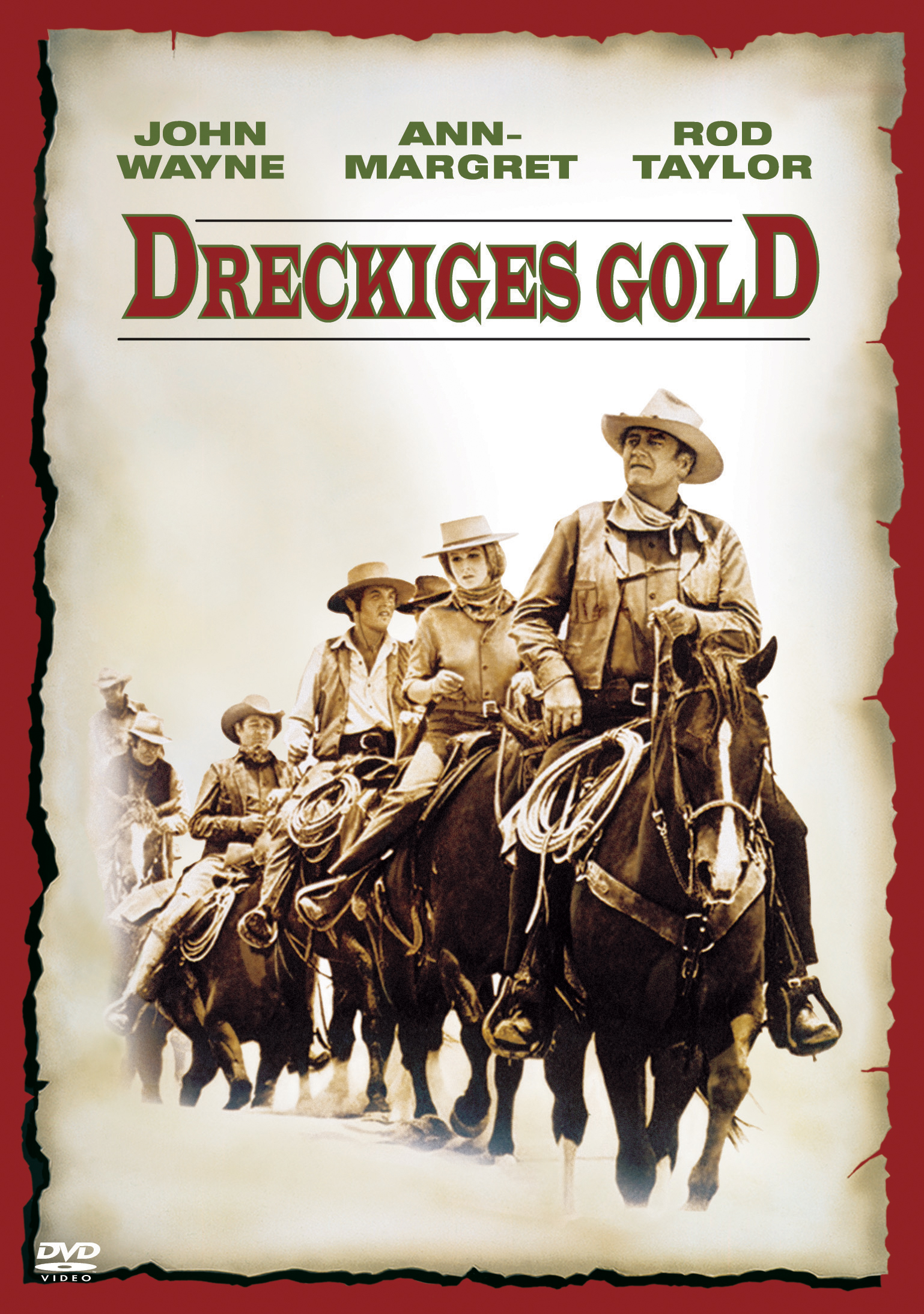 Dreckiges Gold Poster
