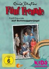 Enid Blyton - Fünf Freunde auf Schmugglerjagd Poster