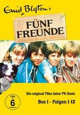 Enid Blyton - Fünf Freunde Box 1, Folgen 01-13 (3 Discs) Poster
