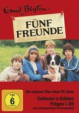 Enid Blyton - Fünf Freunde, Folgen 01-26 (3 Discs + 1 DVD) Poster