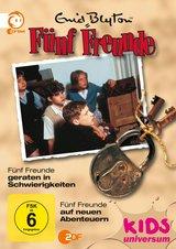 Enid Blyton - Fünf Freunde geraten in Schwierigkeiten / Fünf Freunde auf neuen Abenteuern Poster