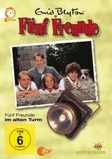Enid Blyton - Fünf Freunde im alten Turm Poster
