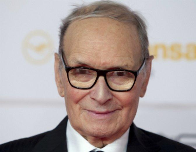 """Mit 87 Jahren ausgezeichnet für die Filmmusik von """"The Hateful Eight"""": Ennio Morricone © Kurt Krieger"""