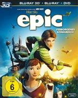 Epic - Verborgenes Königreich (Blu-ray 3D, + Blu-ray 2D, + DVD, 3 Discs) Poster