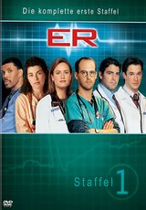 ER - Emergency Room, Staffel 01 (4 DVDs) Poster