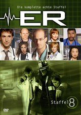 ER - Emergency Room, Staffel 08 (6 DVDs) Poster