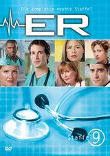ER - Emergency Room, Staffel 09 (6 DVDs) Poster