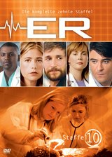ER - Emergency Room, Staffel 10 (3 DVDs) Poster