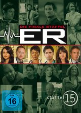 ER - Emergency Room, Staffel 15 (6 DVDs) Poster