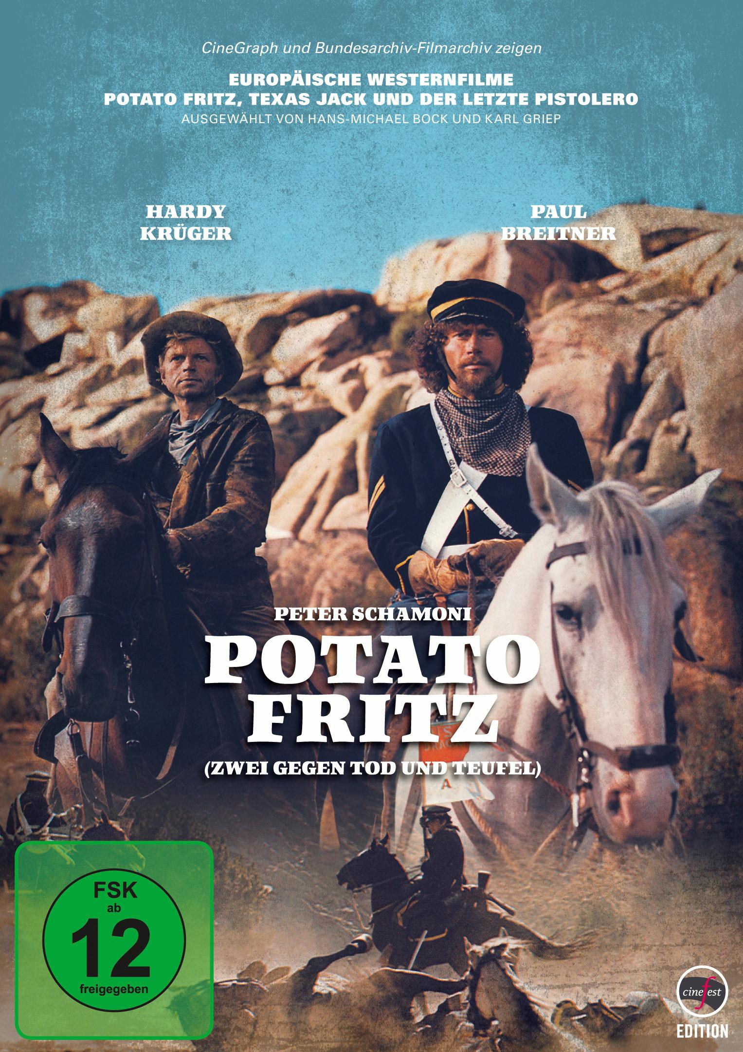 Europäische Westernfilme - Potato Fritz, Texas Jack und der letzte Pistolero Poster