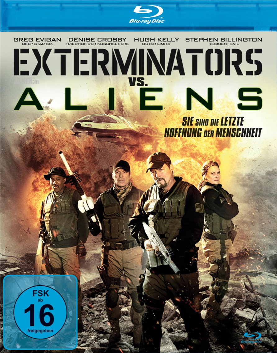 Exterminators vs. Aliens Poster