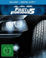 Fast & Furious 5 (Limited Steelbook Edition, + Digital Copy) Poster