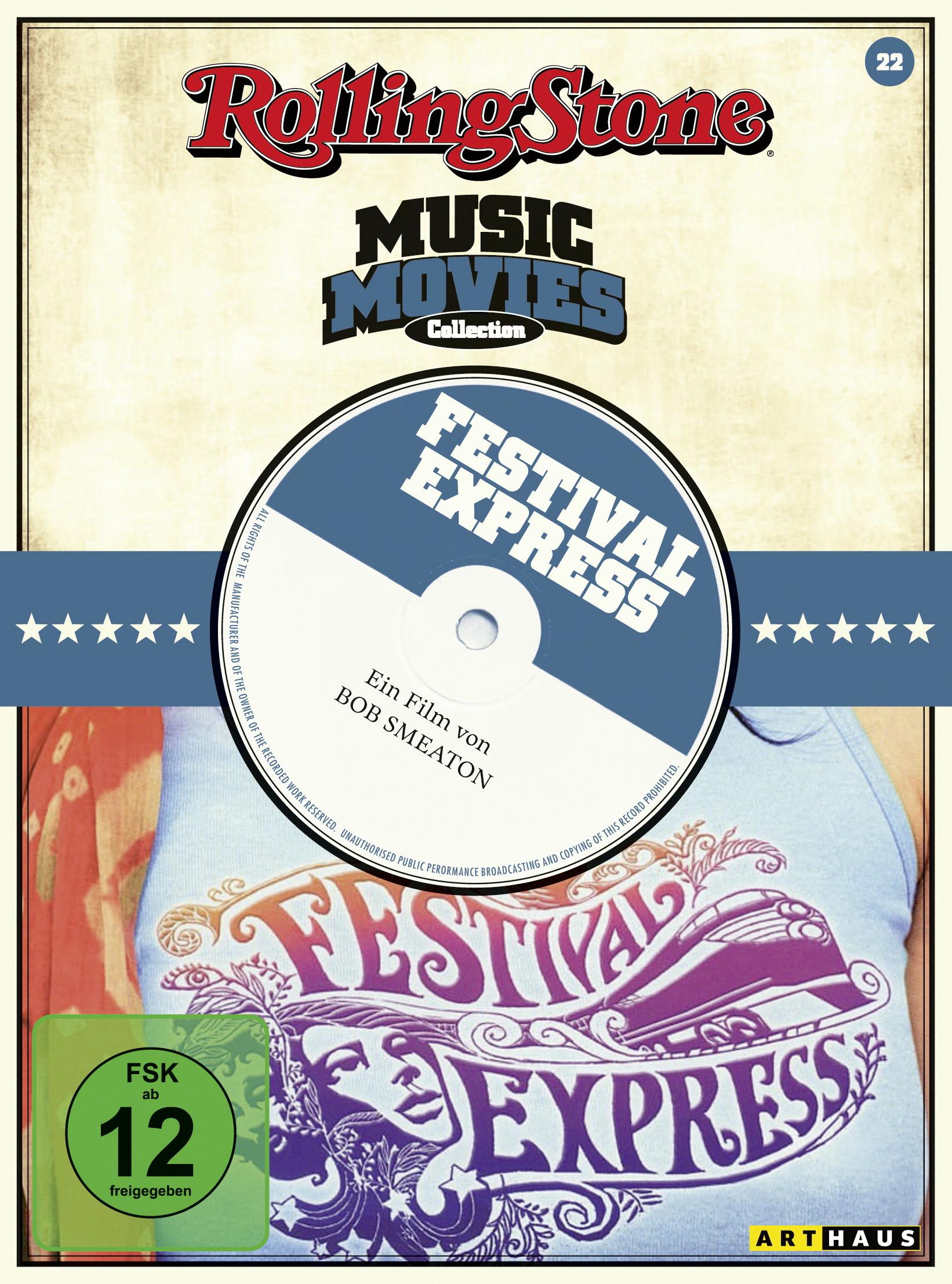 Festival Express (OmU) Poster