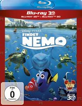 Findet Nemo (Blu-ray 3D, + Blu-ray 2D) Poster